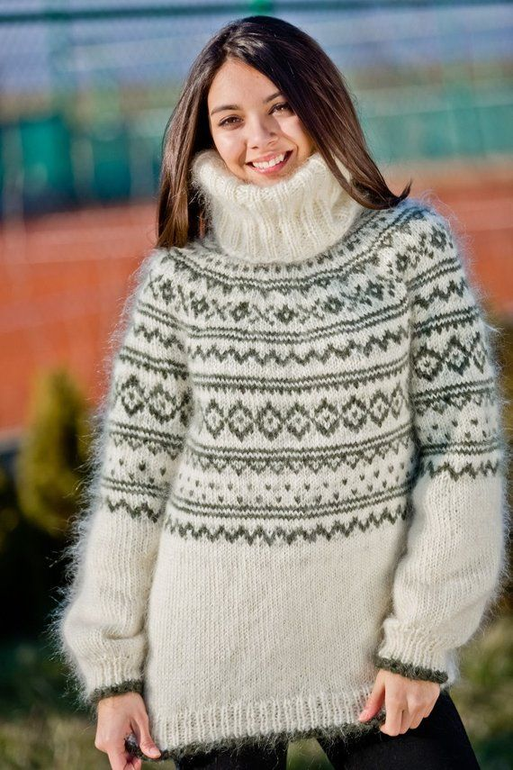 83ba11069f Cream Mohair Sweater