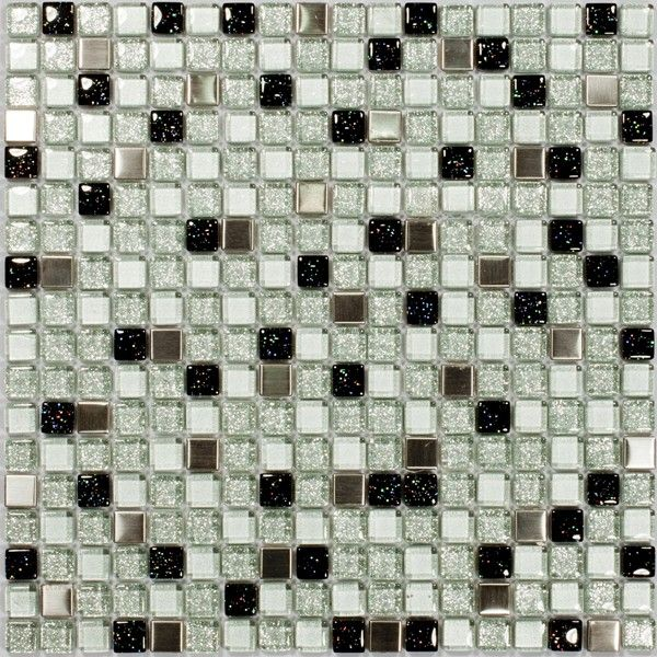 Dell'Arte - mozaiki dekoracyjne Sparkling Glass 15 (plaster 30x30)