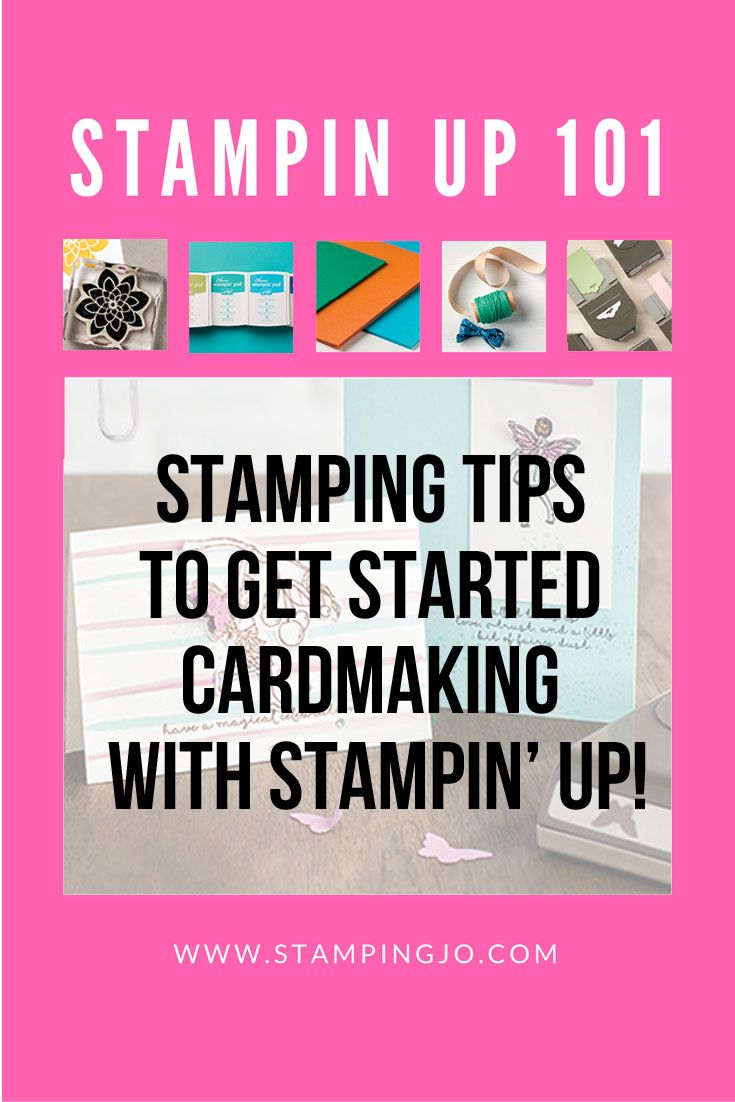 If you are new to stamping and card making, I am sharing some stamping tips to help you get started on your way to crafty goodness! Welcome to Stamping 101.