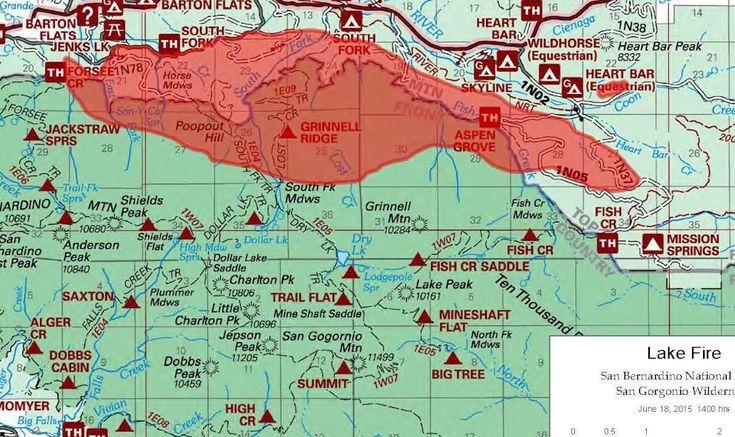Lake Fire 2015: San Bernardino, Barton Flats Fire Updated Today