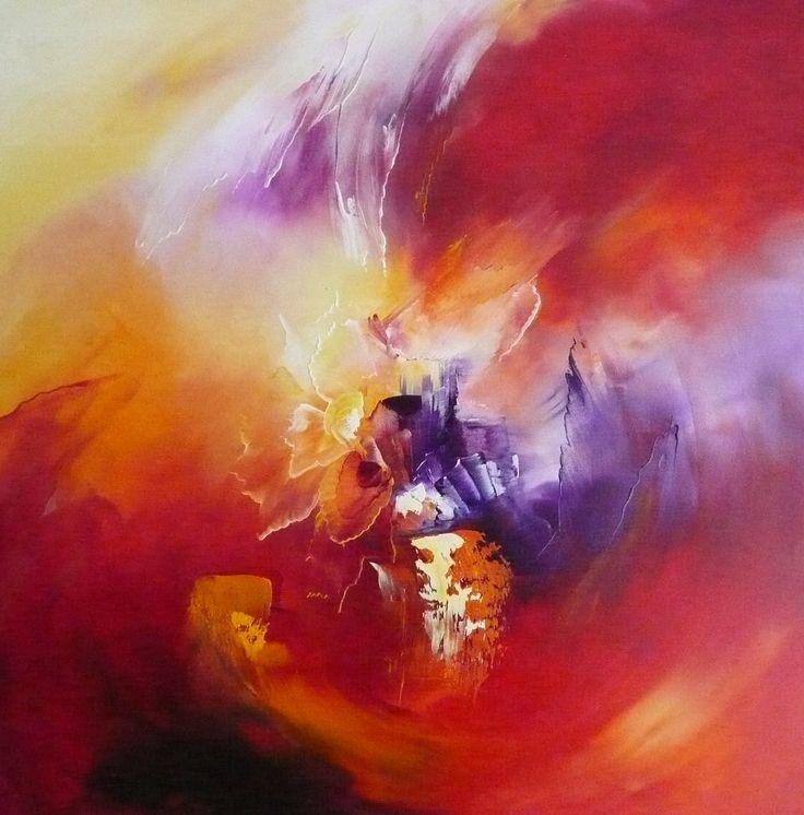 andre bielen art | Angelic ascension, Nadine Bertulessi, Painting