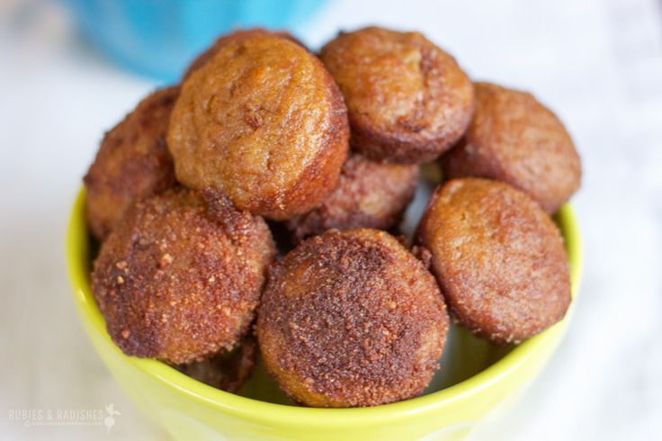 Paleo pumpkin spice poppers are a delicious and healthy treat for the holiday season.