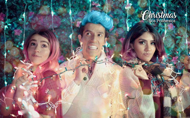 Mis polinesios en Navidad