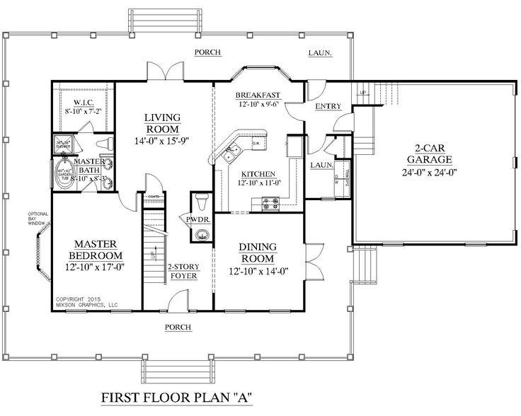 43 best floor plans images on Pinterest | House floor plans, Open ...