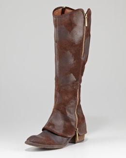 X1BJ6 Donald J Pliner Devi Vintage Suede Boot