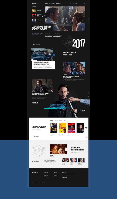 Lionsgate on Behance