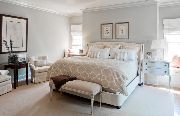 designs for master bedroom and bath | LCI Finished Project: Bed & Bath Interior Designer in Charlotte ...