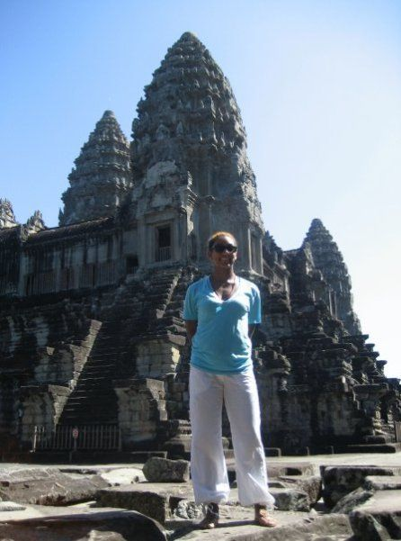 Angkor Wat, Cambodia Where: South East Asia Fun Fact: Includes Angkor Tom and Bayon Temple → site location for Tomb Raider Memorables: The feeling I got when walking up the main promenade, over the…