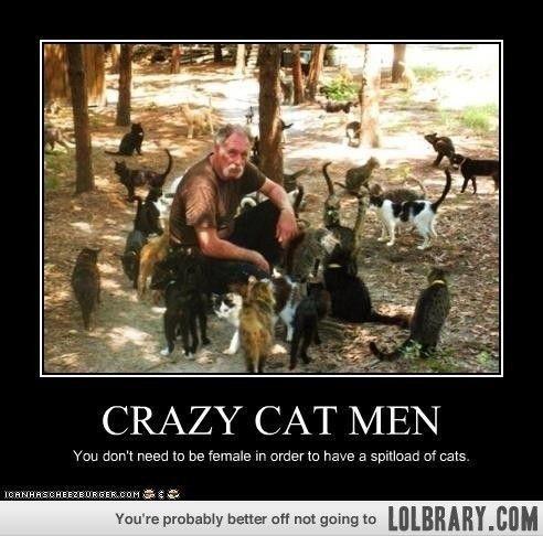 Real Men Love Cats Meme