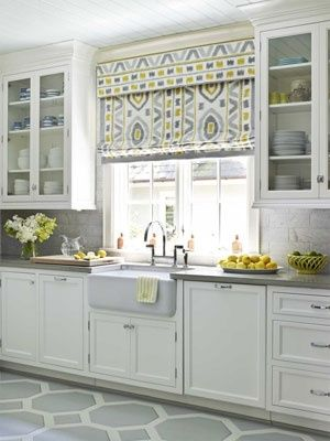 Thoughts on home - kitchen...The cabinets are beautiful.