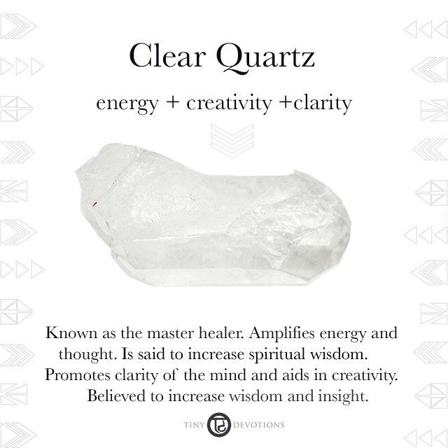 Clear Quartz   Gemstones & Sacred Materials   Tiny Devotions   Mala Beads