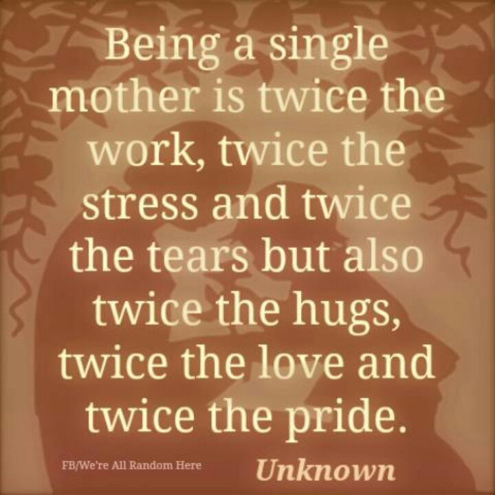 Single Moms, Mom And