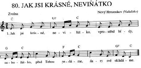 Jak jsi krásné, neviňátko   Víra.cz, křesťanství