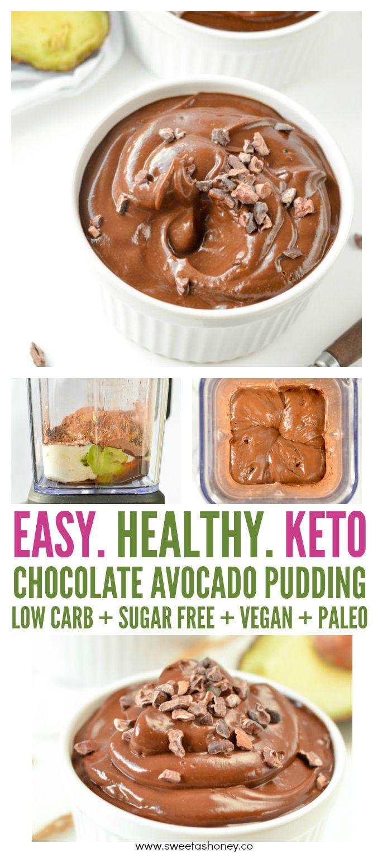 Chocolate Avocado Pudding Keto Paleo Vegan An Allergy