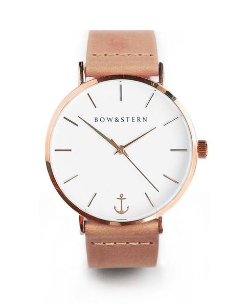 Liberty - Tan Leather – Bow and Stern