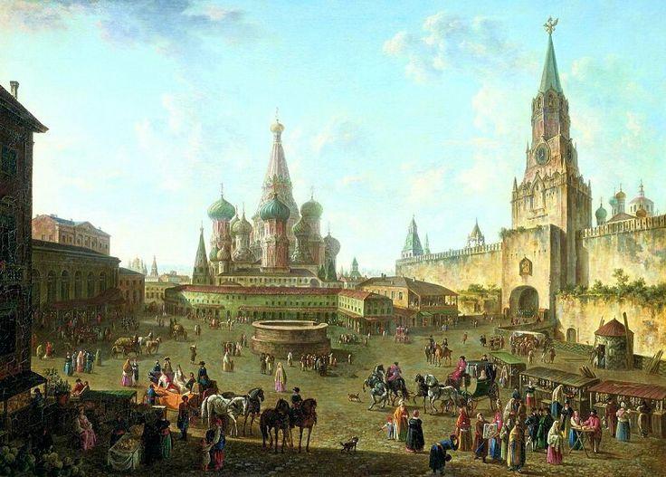 Resultado de imagen de russian painters 18th century