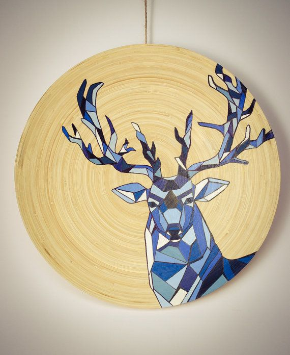 Mr. Blue Deer is not as serious as he looks. He is a fun guy. Yes, he is. :)