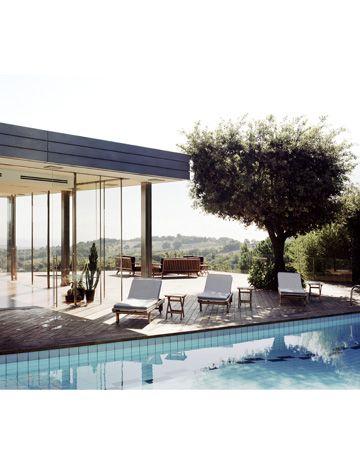 Cesare Paciotti's Tranquil Italian Home   I'll take three please