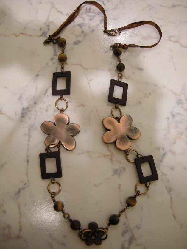 idee bijoux  autunno-inverno con perline fai da te | Galleria di immagini e foto: Fai da te: gioielli in rame