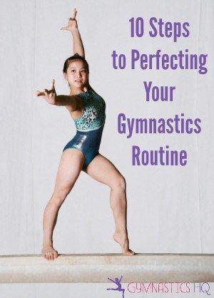 perfect your gymnastics routine