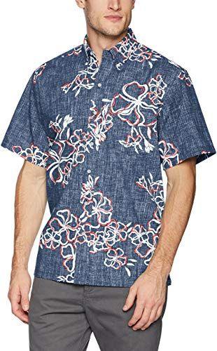 New Reyn Spooner Men's Lei Over Spooner Kloth Classic Fit Hawaiian Shirt online shopping