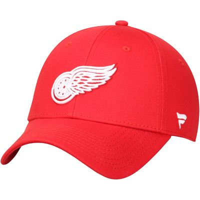 Detroit Red Wings Youth Alpha Structured Adjustable Hat - Red
