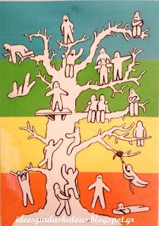 Blob tree | Ιδεες για δασκαλους