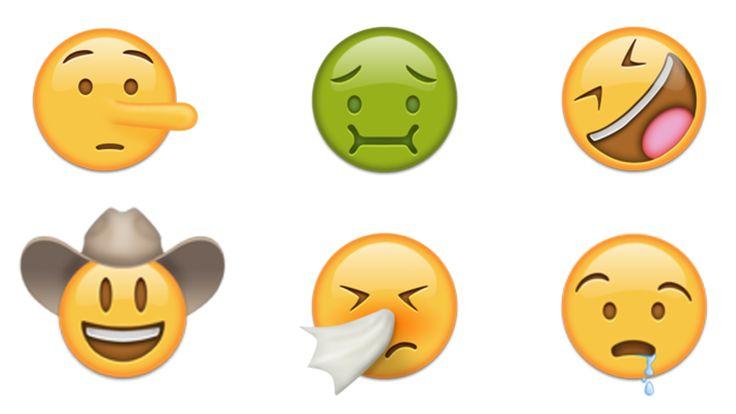 Já viram os Novos Emojis que serão disponibilizados na próxima atualização do iOS?   #emoticons #emojis #ios #whatsapp #smiles #humor #funny