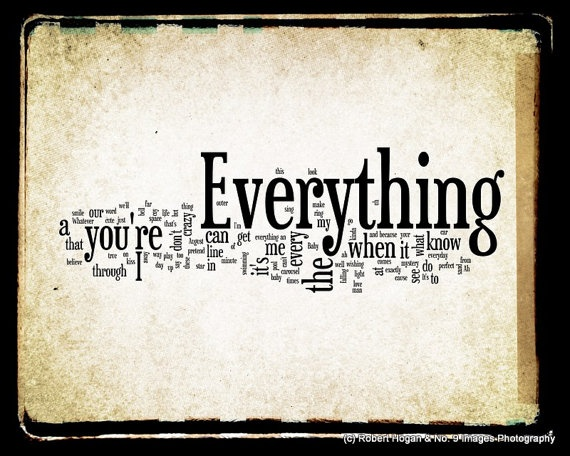 Everything ~ Michael Buble