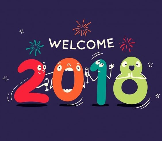 Happy new year 2018 display pictures to greet friends family. Here's hoping that the new year in every way complete with happiness, Success good health, and all that makes life sweet.