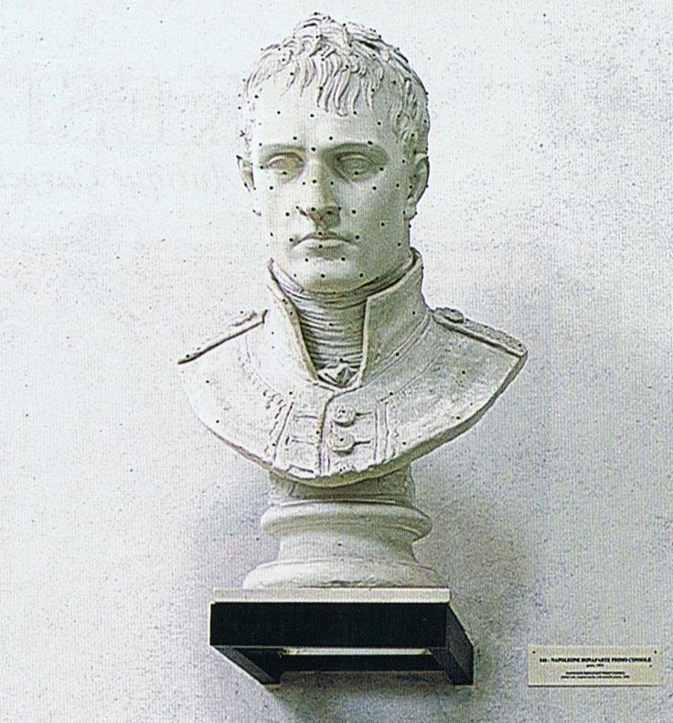 Antonio Canova: Bust of Napoleon.