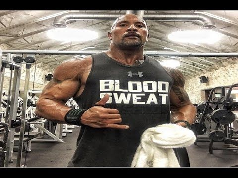 """Dwayne""""The Rock"""" Johnson Workout 2017"""