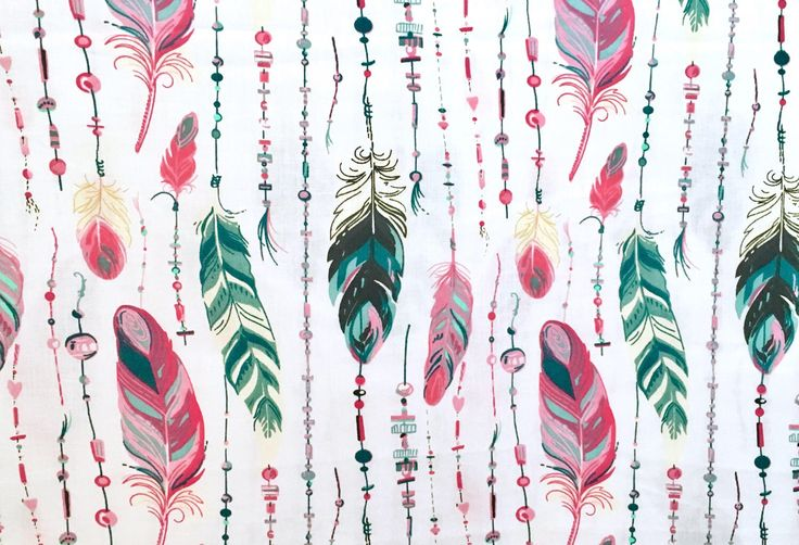 A personal favorite from my Etsy shop https://www.etsy.com/listing/518548477/half-metre-50cm-feather-fabric-boho
