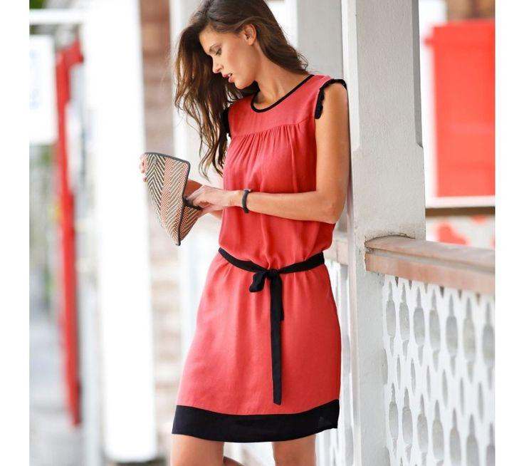 Dvojfarebné šaty | blancheporte.sk #blancheporte #blancheporteSK #blancheporte_sk #dress #saty