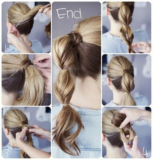 Back to School Hairstyles for Long Hair Ideas: Ponytail Tutorial