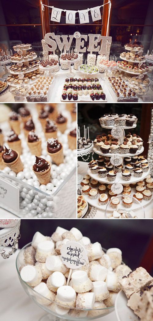 Now that's a dessert table.
