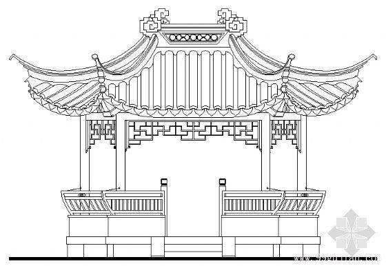 古建凉亭设计图片