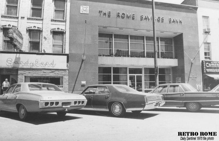Candyland & Rome Savings Bank - 1970