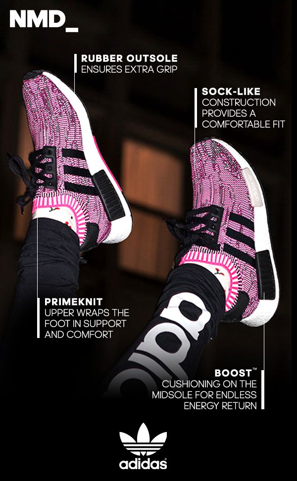 NMD footwear continues on its progressive spiral