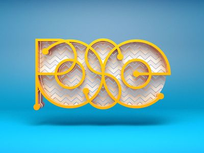 3d typography c4d - Google Search