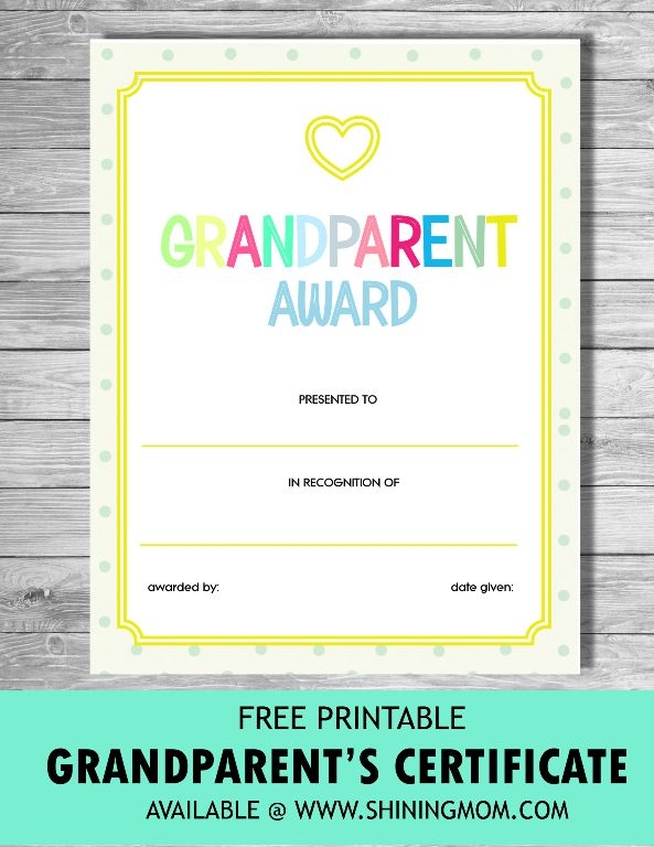 8 best Printables Awards \ Diplomas images on Pinterest Award - free printable certificate of recognition