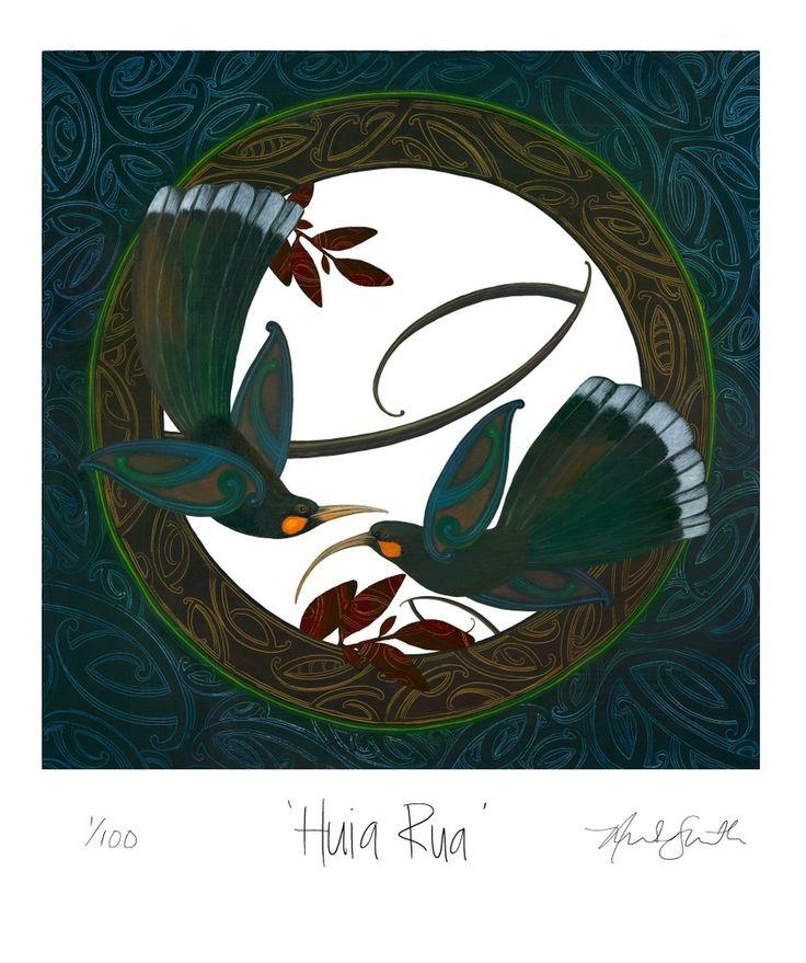 """Image of """" Huia Rua """""""