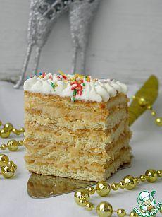 Лимонный торт. Простейший торт без выпечки, на который не уйдет много продуктов. Даже если он останется без внимания в новогоднюю ночь, то к 1 января он станет еще мягче, вкуснее и к вечеру от него останутся лишь крошки. И то вряд ли) Автор: Эволюция
