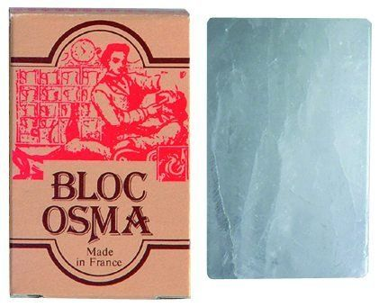 Bloc Osma Alum Block by Osma. $8.49. Imported from France. Stops Bleeding. Pure Potassium Alum. 2.65 ounce. Reduces Shave Irritation. High quality pure potassium alum block to reduce shave irritation and stop bleeding from razor nicks and cuts.