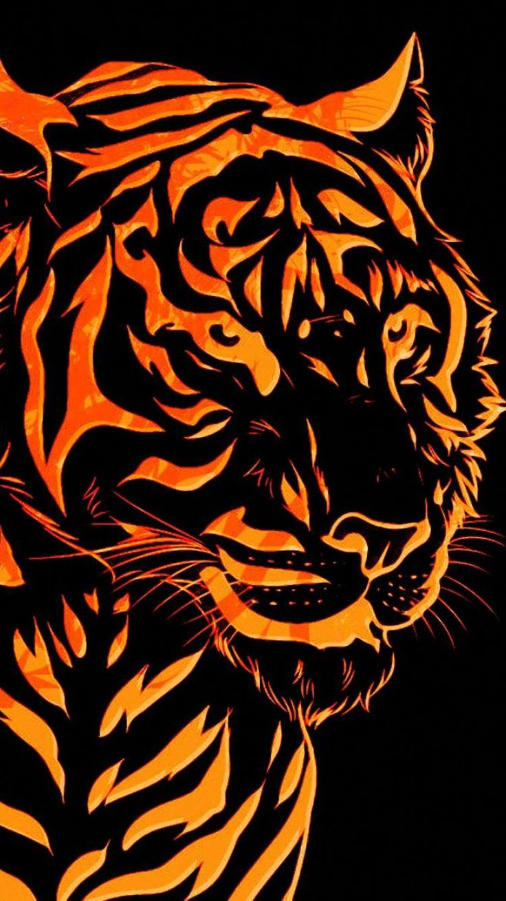 download graph tiger wallpapers line backgrounds hd