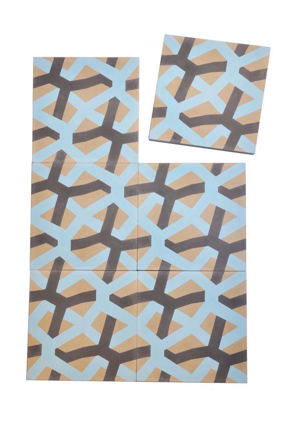 carreau de ciment maillage carodeco par sophie fetro dition limit e carreau de ciment. Black Bedroom Furniture Sets. Home Design Ideas