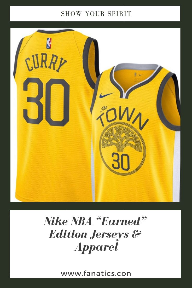 """brand new 92025 3970d Nike NBA """"Earned"""" Edition Jerseys & Apparel. Show your ..."""