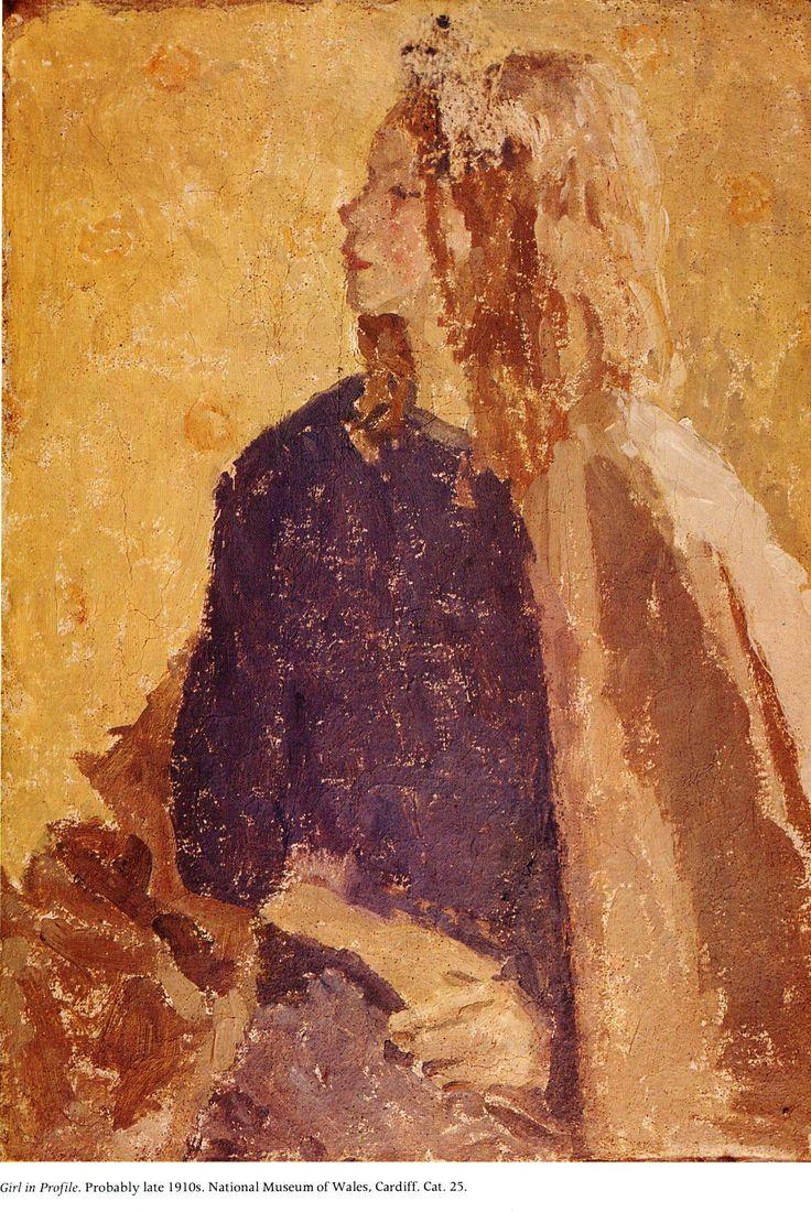 Girl in Profile,   Gwen John
