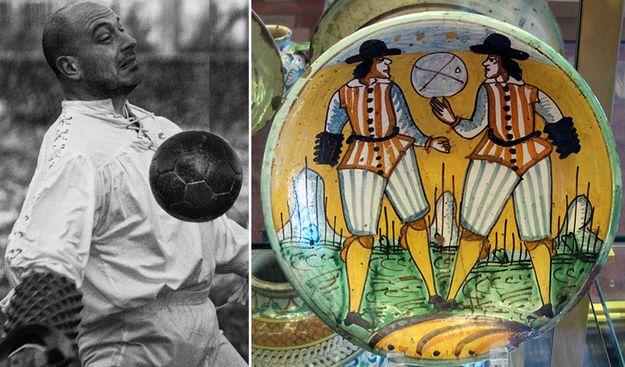 Traditional Italian sports: Pallone col bracciale