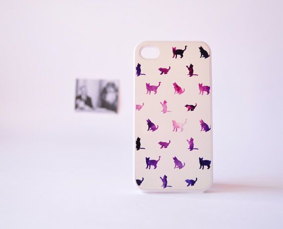 #iPhoneCase iPhone 4/4s Case - Galaxy Cat iPhone Case by TheCaseOfMrPelham, $17.99